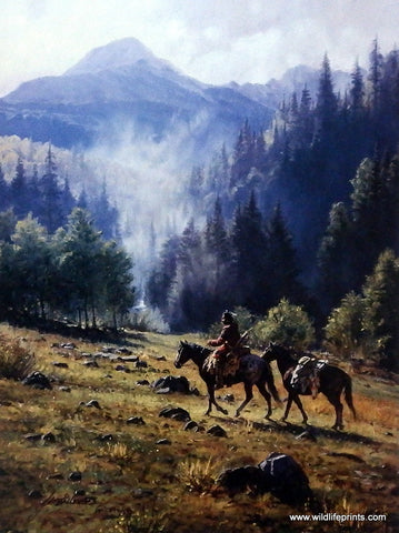 Martin Grelle Mist of the Morning