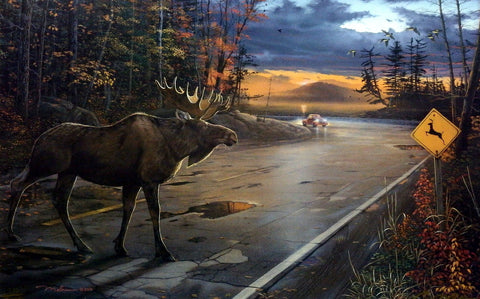 Ervin Molnar Deer Crossing