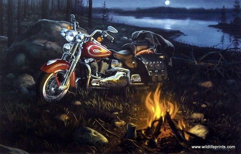 Charles Freitag Harley Davidson motorcycle picture