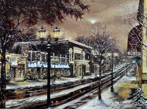 Susan Amidon Moonlight On Grand Avenue
