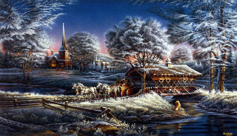 Terry Redlin Morning Frost