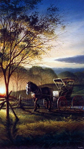 Terry Redlin Morning Rounds