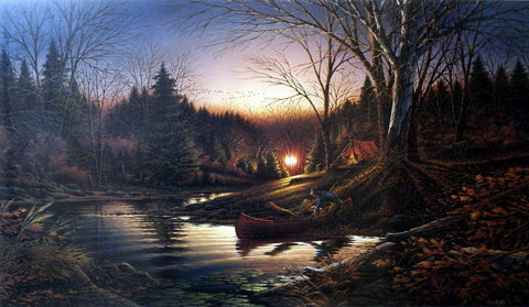 Terry Redlin Morning Solitude
