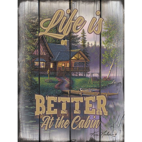 Kim Norlien Life is Better at the Cabin