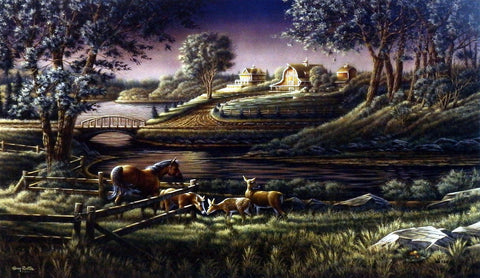 Terry Redlin Natural Curiosity
