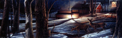 Terry Redlin Night Mapling