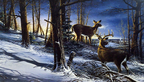 Terry Redlin Night Watch