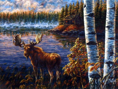 John McFaul North Country Moose