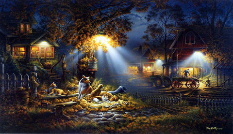 Terry Redlin Our Friends