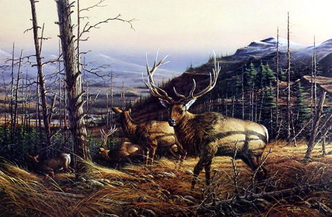 Terry Redlin Passing Through