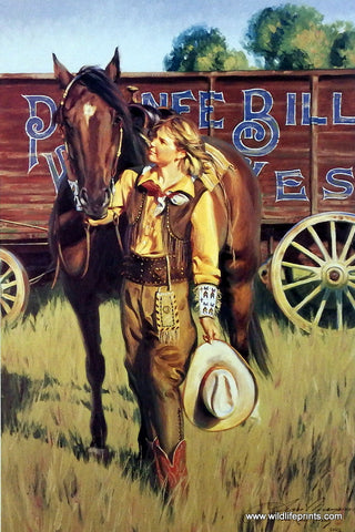 Terri Kelly Moyers Pawnee Bill's Wild West