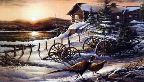 Terry Redlin Peaceful Evening