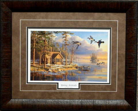 Mary Pettis Spring Arrivals- Framed