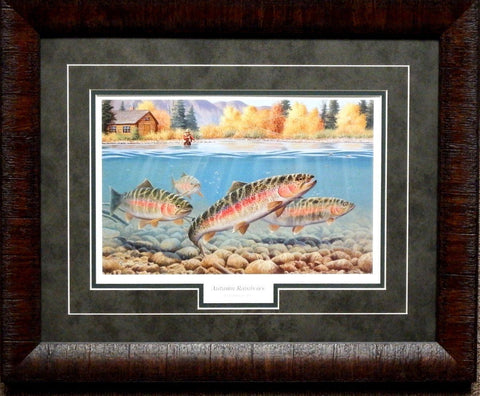 Cynthie Fisher Autumn Rainbows Print-Framed