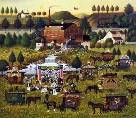 Charles Wysocki Picture of Root Beer Festival
