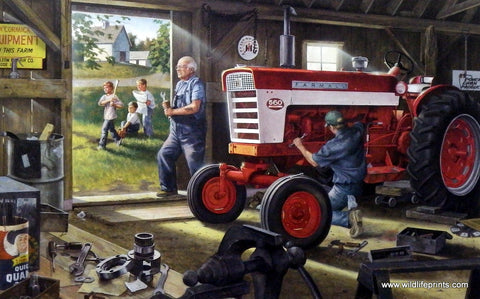 Charles Freitag McCormick IH Farmall Tractor picture