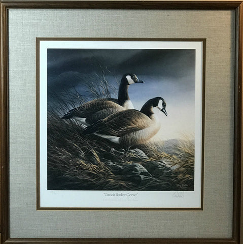 Terry Redlin Set of 4 Geese S/N Art Prints- All Framed