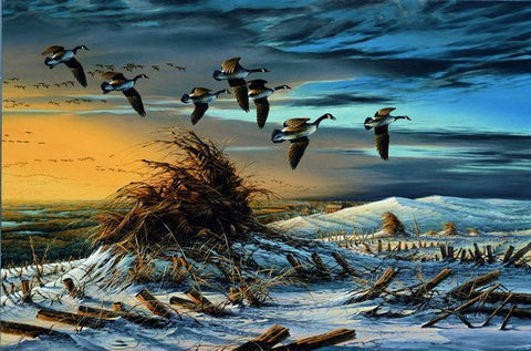 Terry Redlin High Country Goose S/N Print