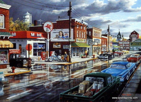 Ken Zylla Reflections Of Main Street