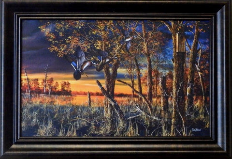 "Jim Hansel "" Return to the Refuge""Decorator framed Print"