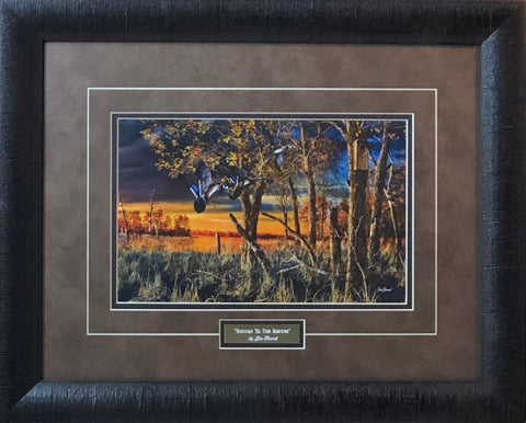 Jim Hansel Return to the Refuge Art Print-Framed 21 x 17