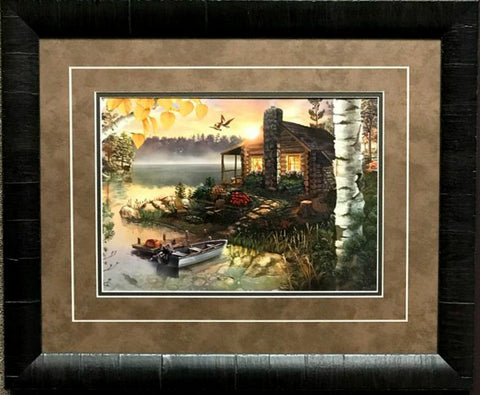 Jim Rownd Autumn Splendor-FRAMED