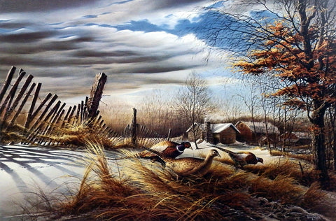 Terry Redlin Seed Hunters