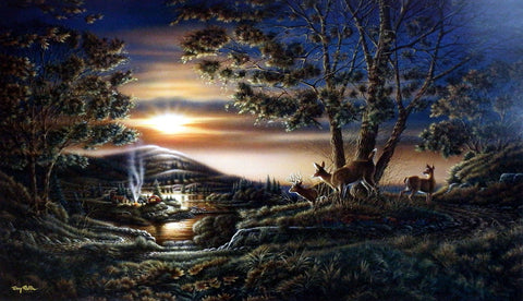 Terry Redlin Sharing the Sunset
