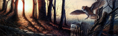 Terry Redlin Silent Flight