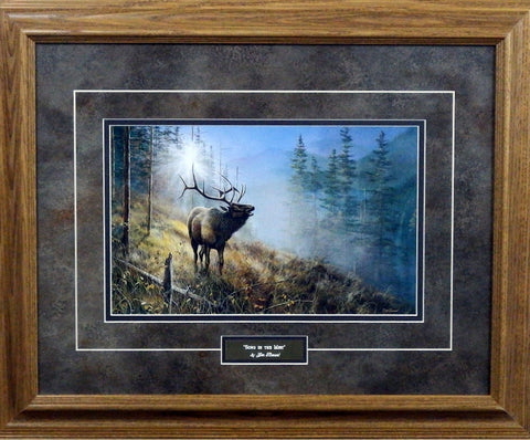Jim Hansel Song In the Mist- Framed