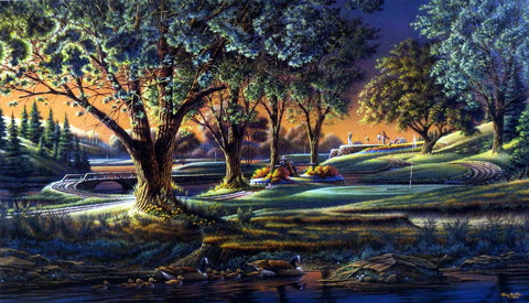 Terry Redlin Spring On The Green