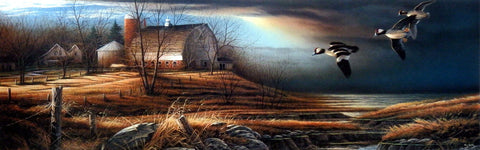 Terry Redlin Stormy Weather