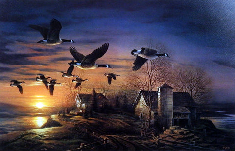Terry Redlin Sundown