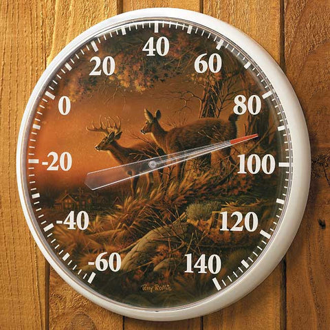 Thermometer-Terry Redlin Sunset Harvest