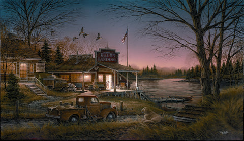 Terry Redlin Total Comfort