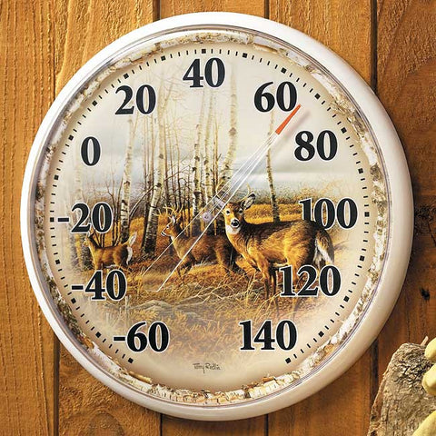 Thermometer- Terry Redlin The Birch Line