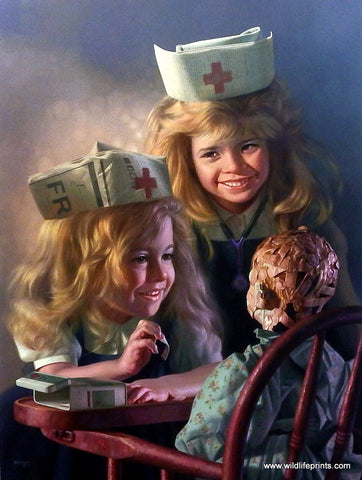Bob Byerley Children's Print Doll Hospital