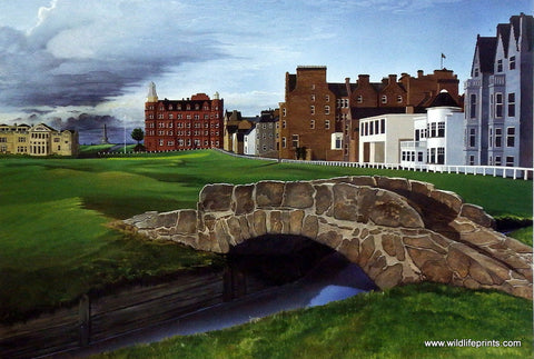 Elizabeth Peper The Dream Course Hole Eighteen St. Andrews