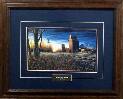 Jim Hansel The Harvest Season- Framed