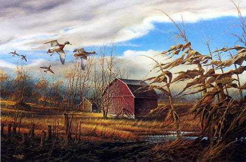 Terry Redlin The Homestead