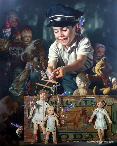 Bob Byerley Children's Print Puppets and Marionettes