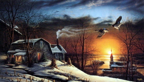 Terry Redlin The Sharing Season