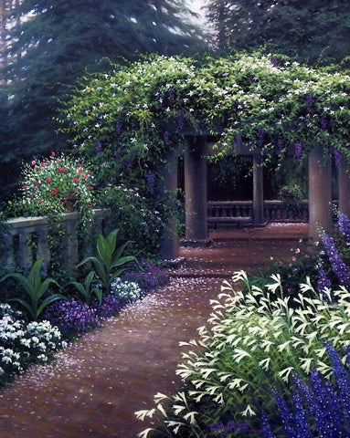 Charles White Floral Garden Picture TERRACE GARDEN SUITE