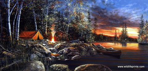 Jim Hansel Twilight Fire
