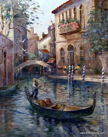 Lew Gordon Venetian Colors