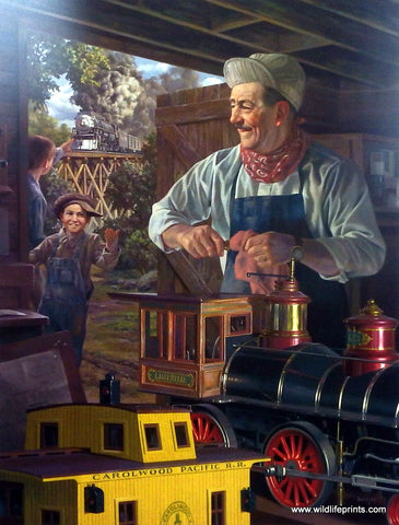 Bob Byerley Children's Print Building with Walt Disney