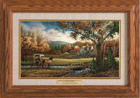 Terry Redlin Wednesday Afternoon Master Stroke-FREE SHIPPING