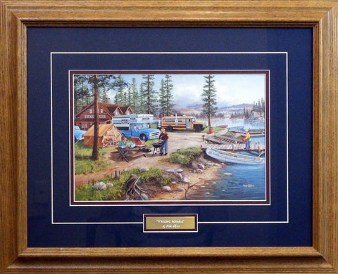 Ken Zylla Weekend Retreat- Framed