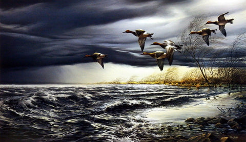 Terry Redlin Whitewater