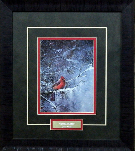 Scott Zoellick Winter Friend- Framed